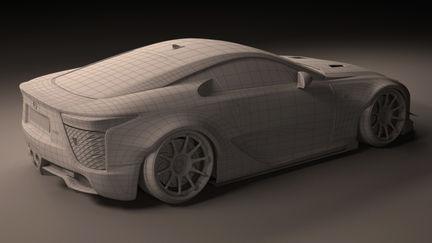 LB Works Lexus LFA
