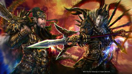 Three Kingdoms Lu Bu Vs Three Brother