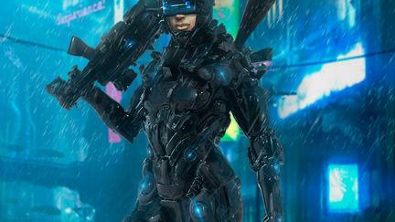 Concept Female Cyberpunk