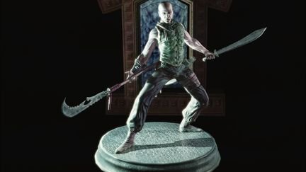 Kung Fu Master- In-game Model