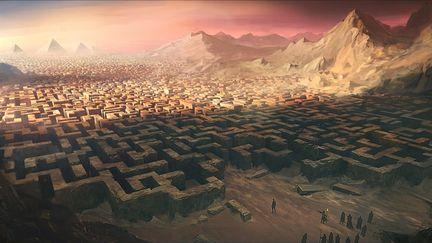 The Labyrinth of Tsan-Kamal