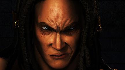 Shiva Close Up