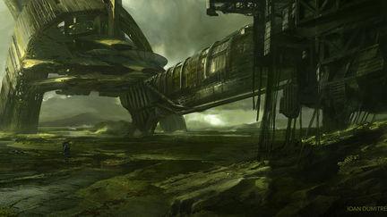 sci fi base