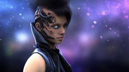 Alaïa - Cyberpunk!¡Style