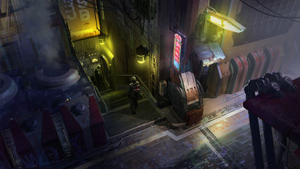 Star Citizen - back alley