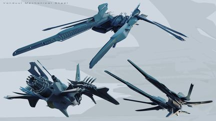Vanduul Bomber design sheet
