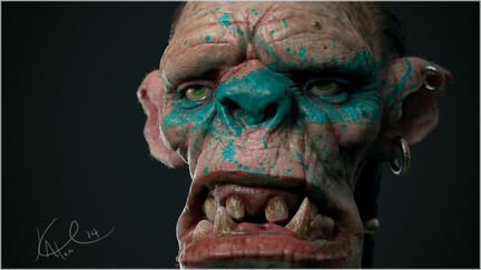 Creative Character Workshop Orc