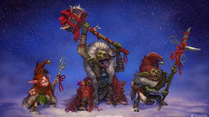 Christmas goblins