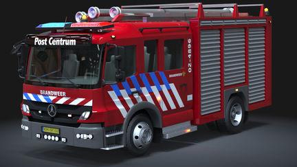 Automotive Modeling: Fire Truck