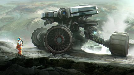 Chafer/ Planet explorers vehicle