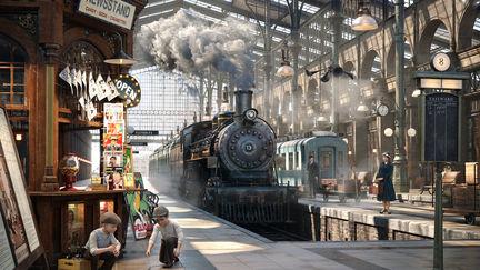 1930s trainstation