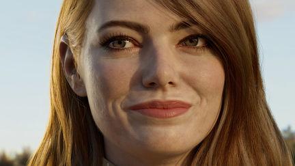 Emma Stone likeness