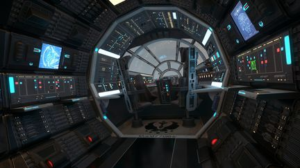 "YT-1300 ""GREY WIDOW"" COCKPIT VIEWS"