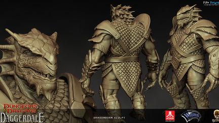Dragonborn sculpt