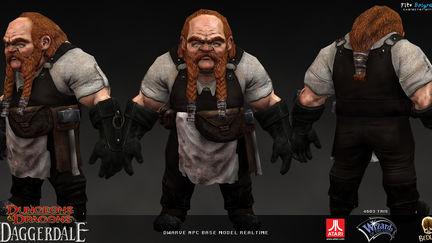 Dwarve NPC real-time