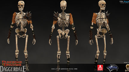 Skeleton Warrior real-time
