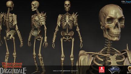 Skeleton Warrior sculpt