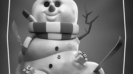 Snowman e-Card 2014