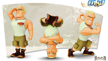 Harol runner - Mini-Drago