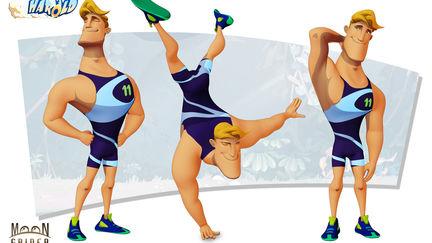 Harold runner - the rival