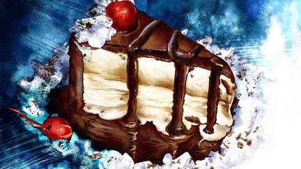 Digital Painting Cake
