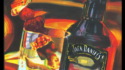 Marker Rendering Jack Daniels