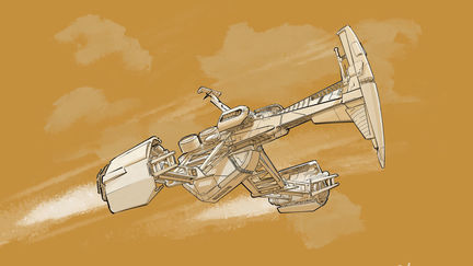 Spaceship Sketch