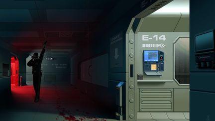 Bloody Hallway