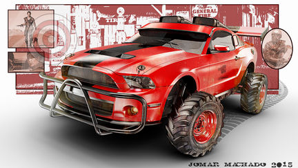 Mustang in the Fury Road...