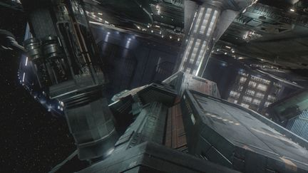 The Expanse : Matte Painting