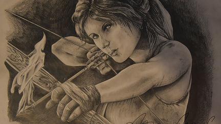 Tomb Raider Drawing