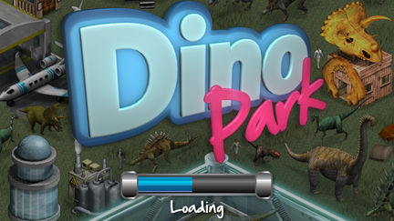 Dinopark Welcome Screen