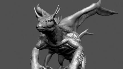 Multi limb monster Zbrush Sketch