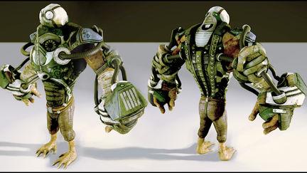 Textured Pilot Character
