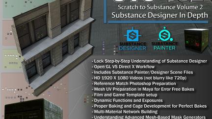 13  Hour Substance Designer Tutorial