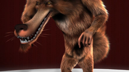 Cinemark Characters - Werewolf Character