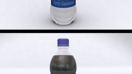 Pepsi & Aquafina Bottles