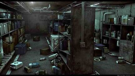 Mysterious Warehouse