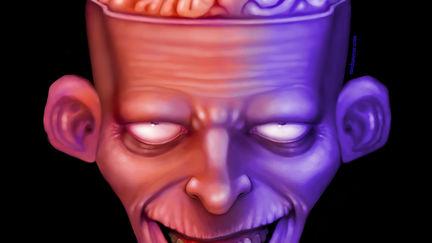 Monster head 02