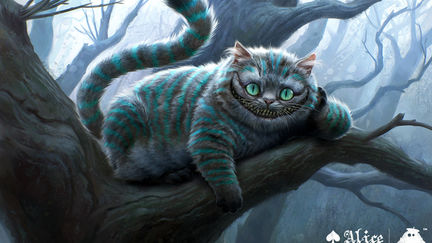 Alice in Wonderland - Cheshire Cat Concept