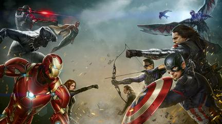 Civil War Concept for Marvel