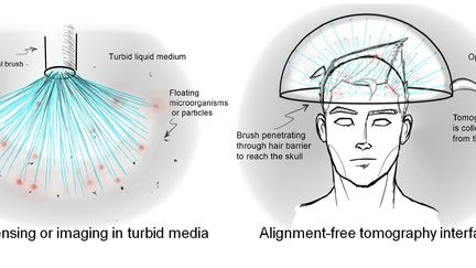 Optical brush applications 2