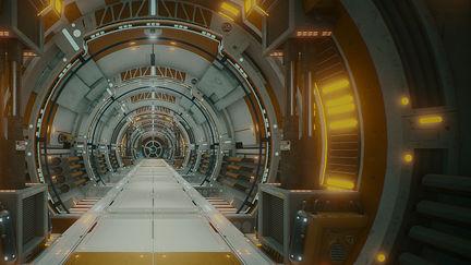 UE4 - Sci Fi Corridor...