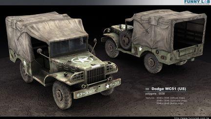 3D vehicle - Dodge WC51