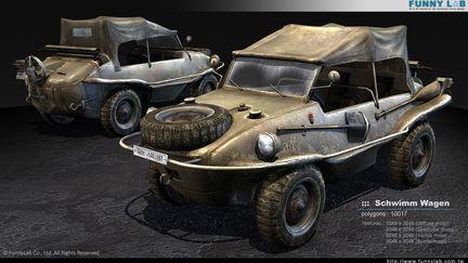 3D vehicle - Schwimm wagen