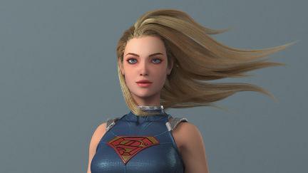 Girl of steel (SuperGirl)