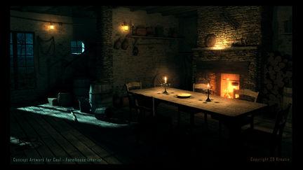 Farmhouse Interior - Caul
