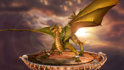 Dragon turntable