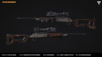 Scavengers: Guns, guns, guns