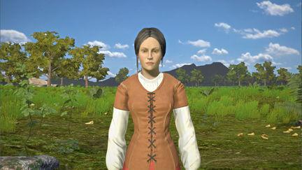 Jeanne d'Arc virtual character